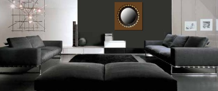 canap en cuir. Black Bedroom Furniture Sets. Home Design Ideas