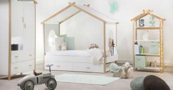 Lit Enfant Grand Choix De Lits Pour Enfant LesTendancesfr - Lit cabane 140x190