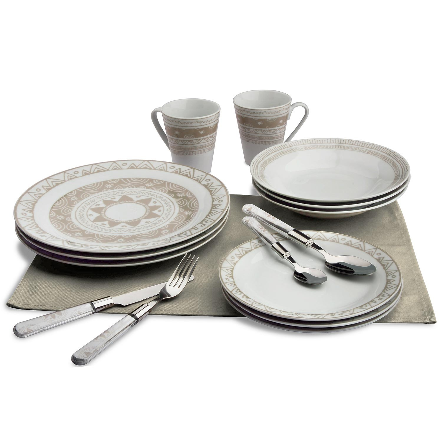 Service de table porcelaine