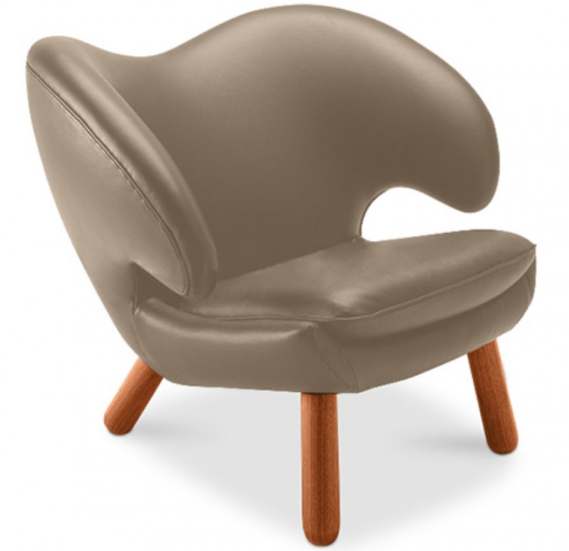 Fauteuil taupe