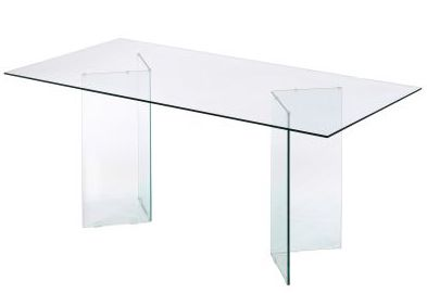Table extensible transparent