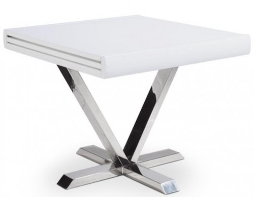 Table extensible carrée