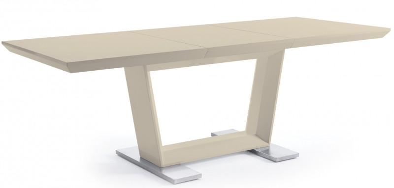 Table extensible beige