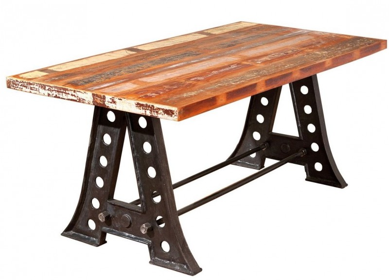Table rectangulaire industriel