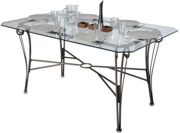 table fer forg plateau verre affordable table guridon en fer forg et plateau en verre france. Black Bedroom Furniture Sets. Home Design Ideas