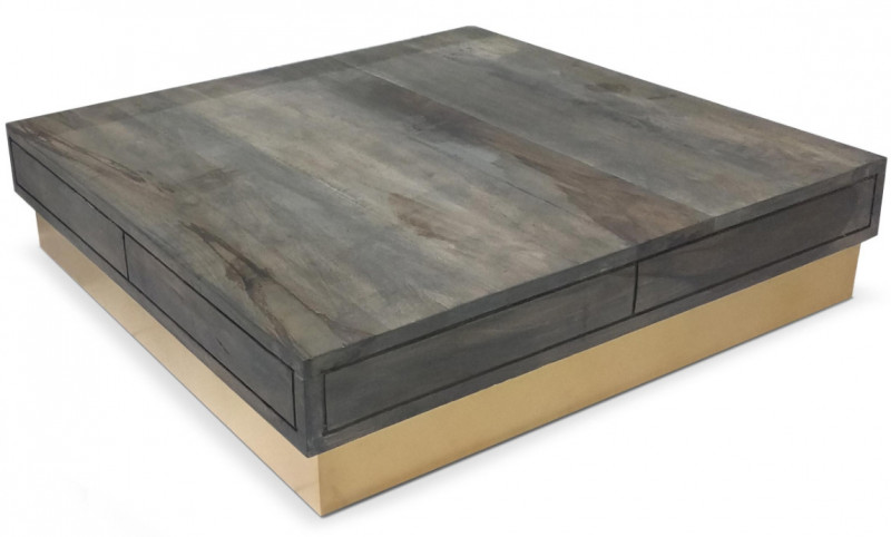 Table basse fixe