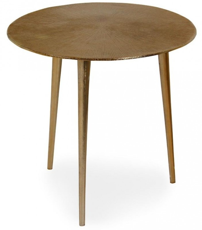 Table d'appoint cuivre