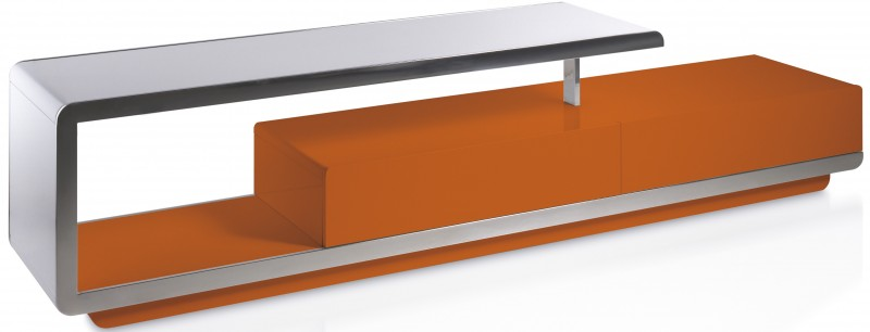 Meuble TV orange