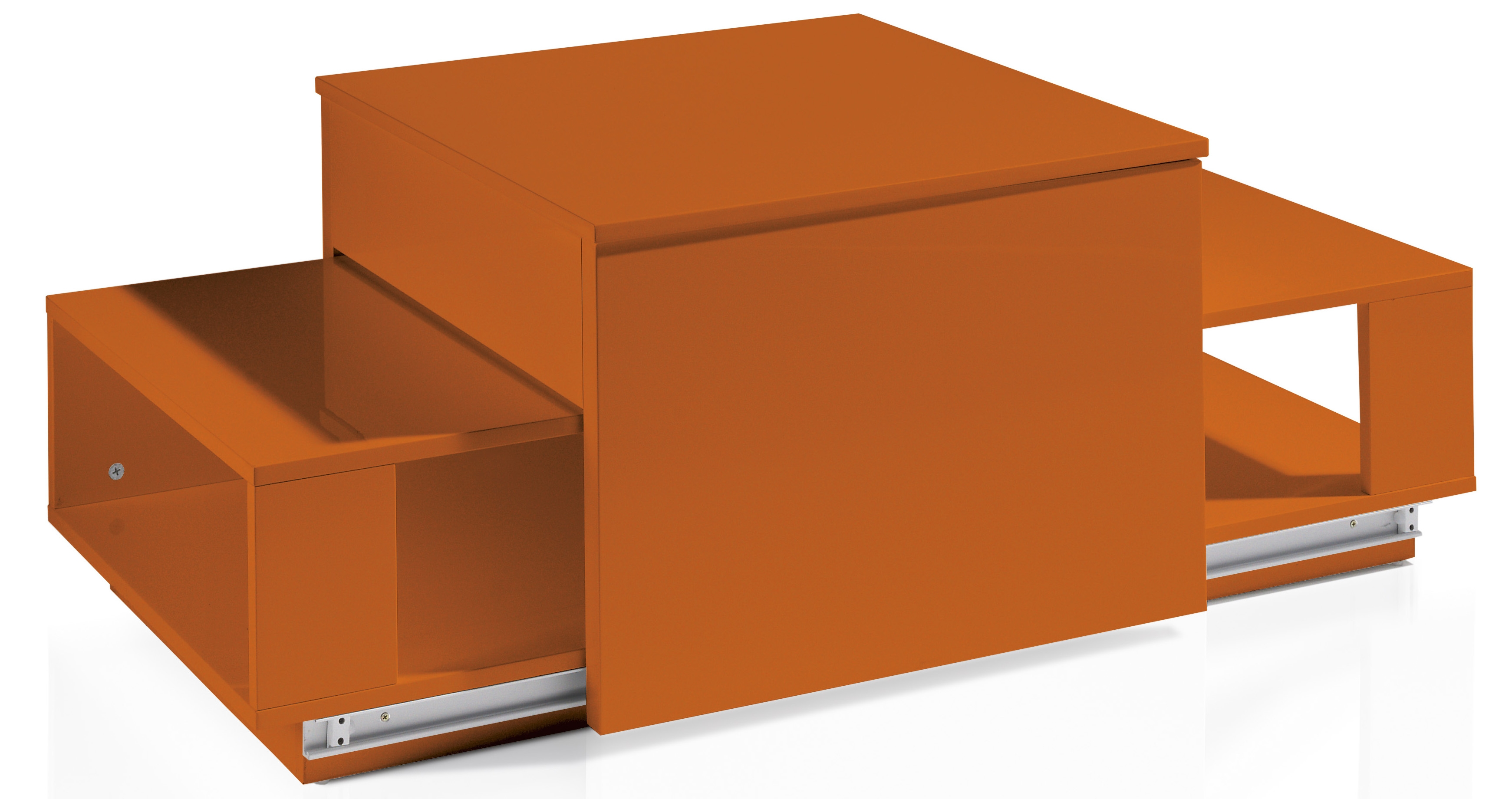 table basse relevable laquée orange optima | lestendances.fr