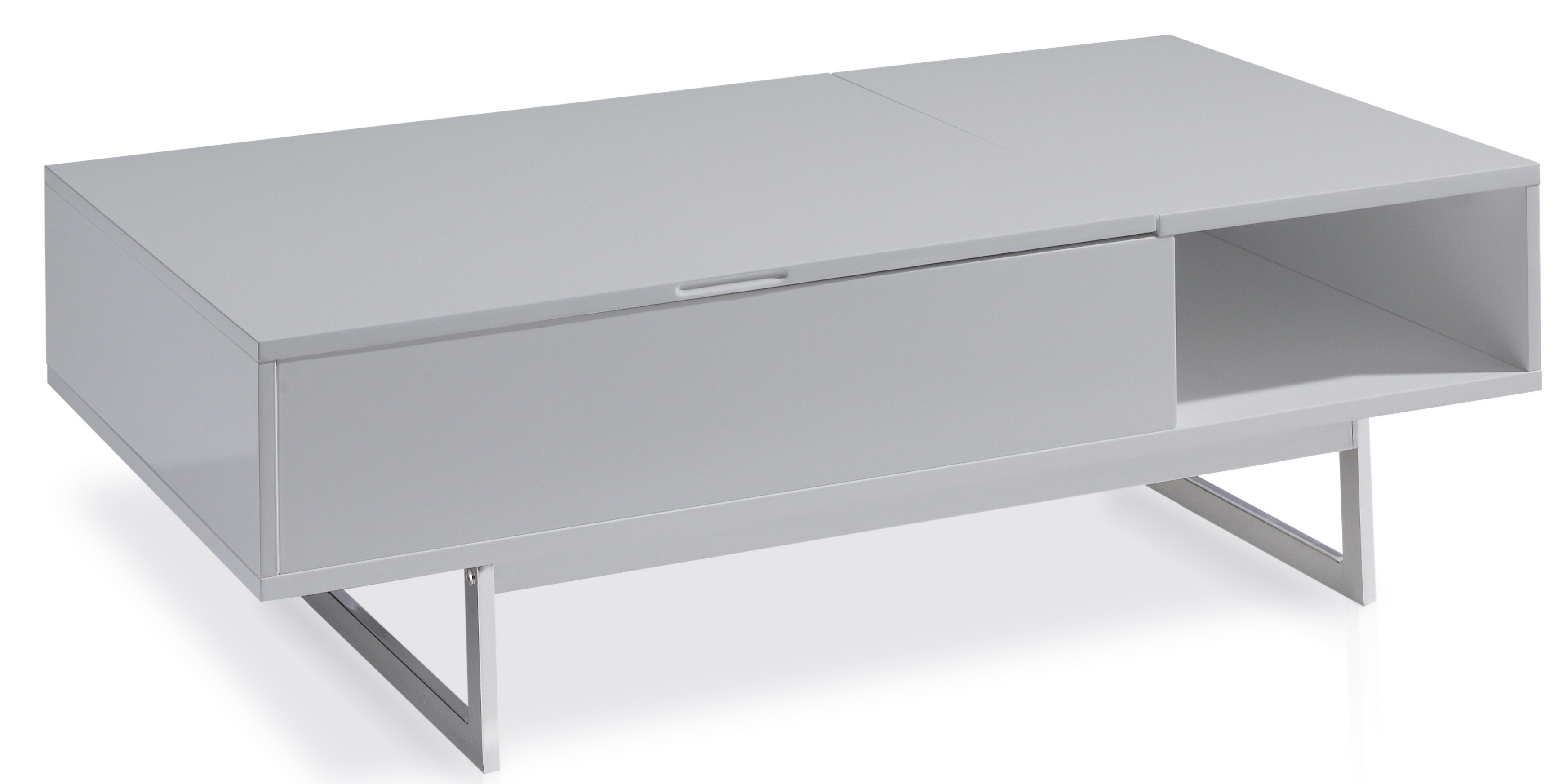 table basse grise table basse design blanche   trendsetter