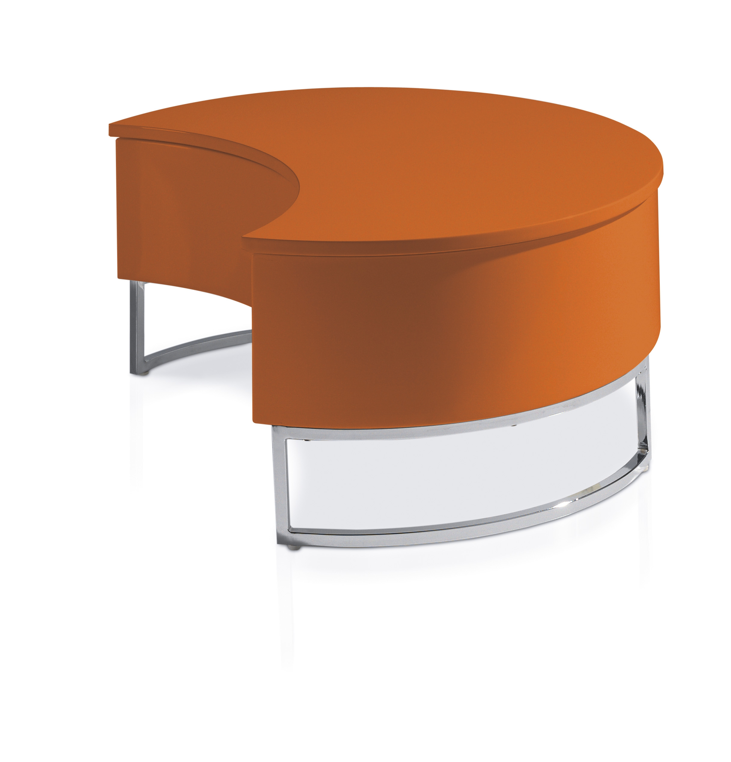 Table basse orange fly for Fly table basse relevable