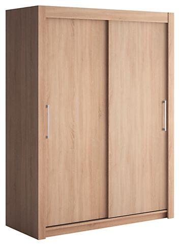 armoire 2 portes coulissantes ch ne clair little 150. Black Bedroom Furniture Sets. Home Design Ideas