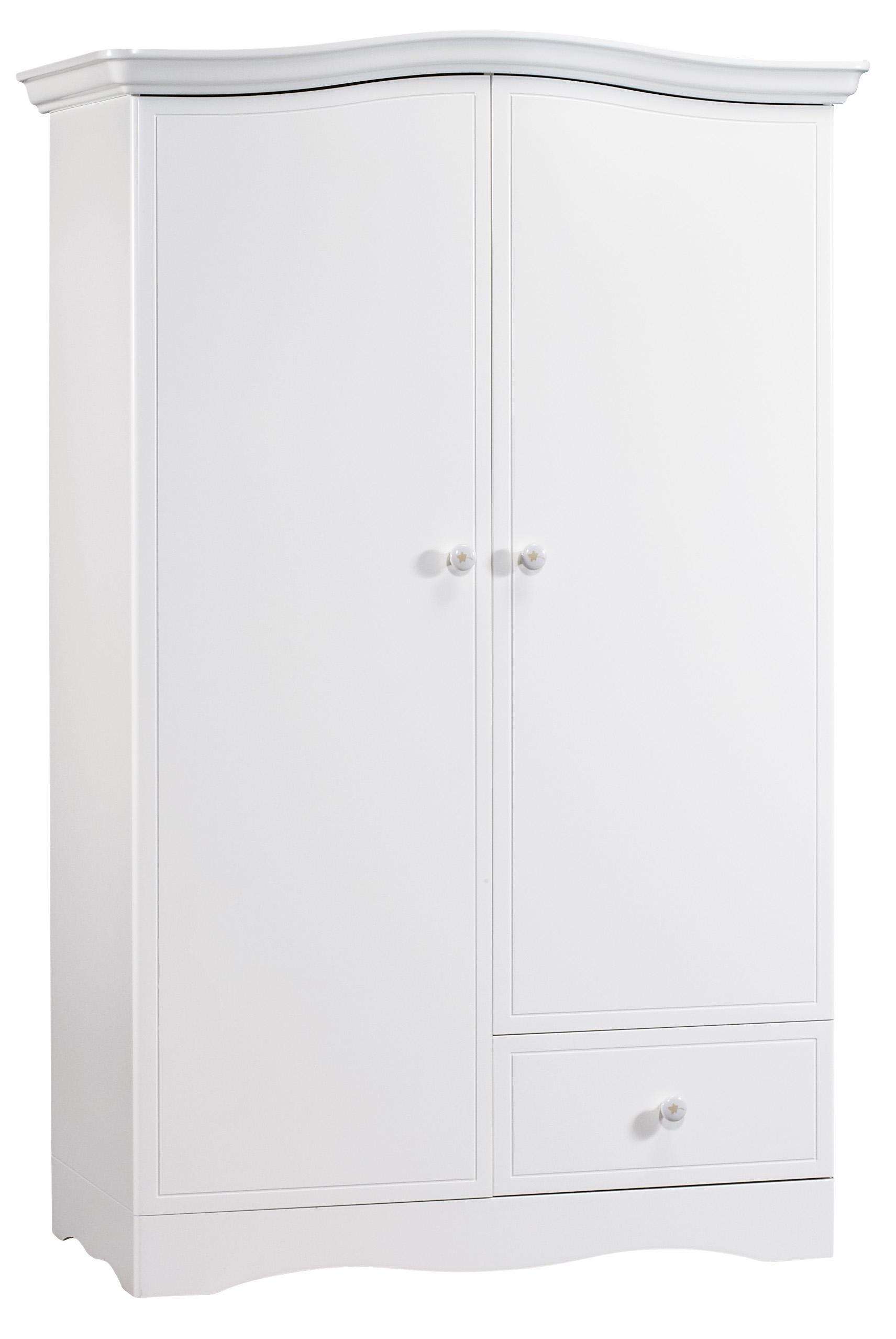 Armoire 2 portes Folio Blanc Sauthon LesTendances