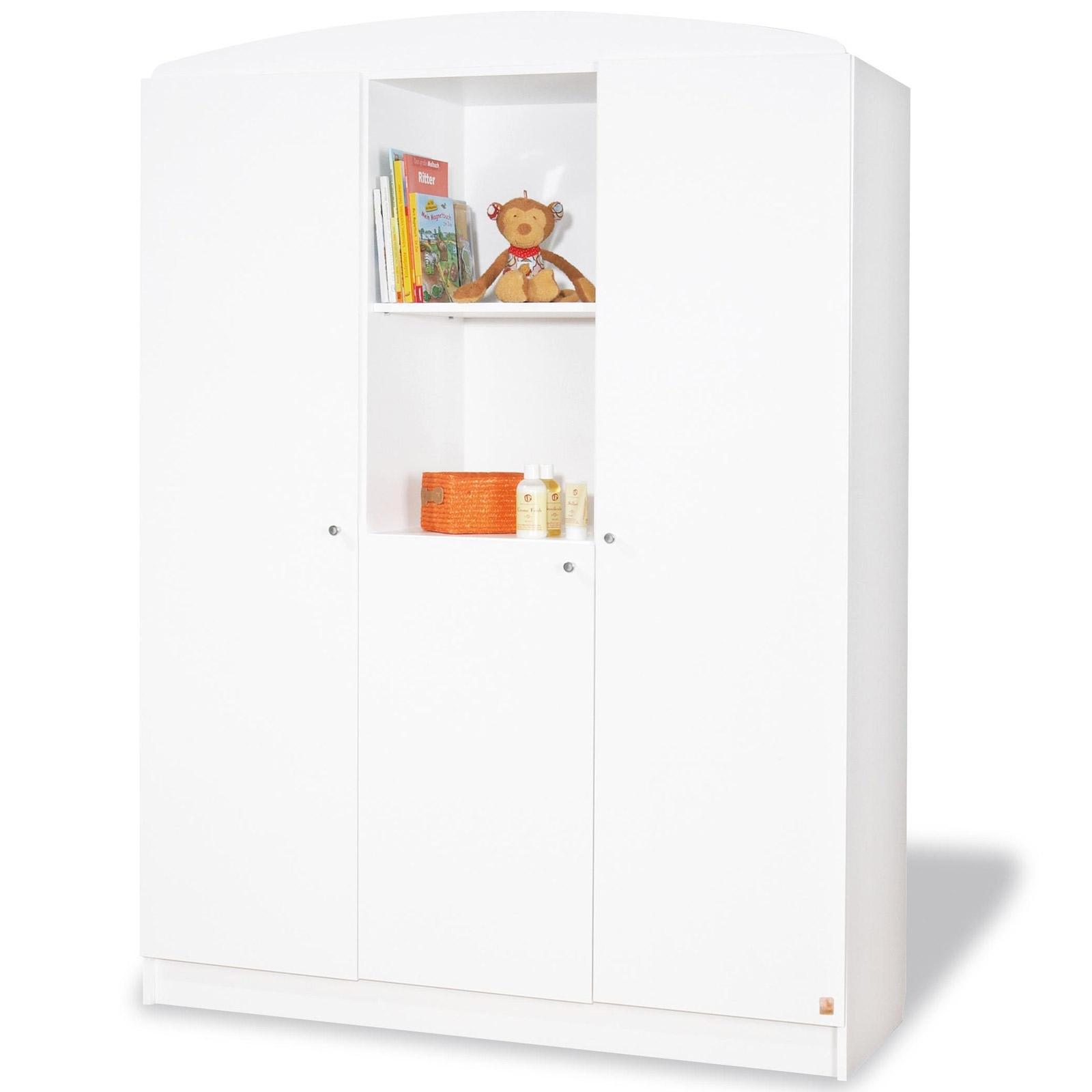 Armoire 3 portes Pin Blanc Jil LesTendances