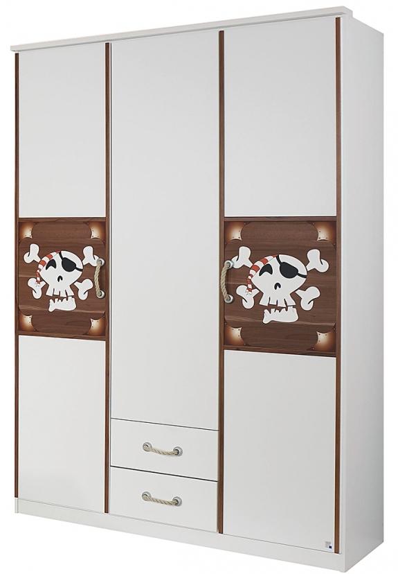 armoire 3 portes pirate. Black Bedroom Furniture Sets. Home Design Ideas