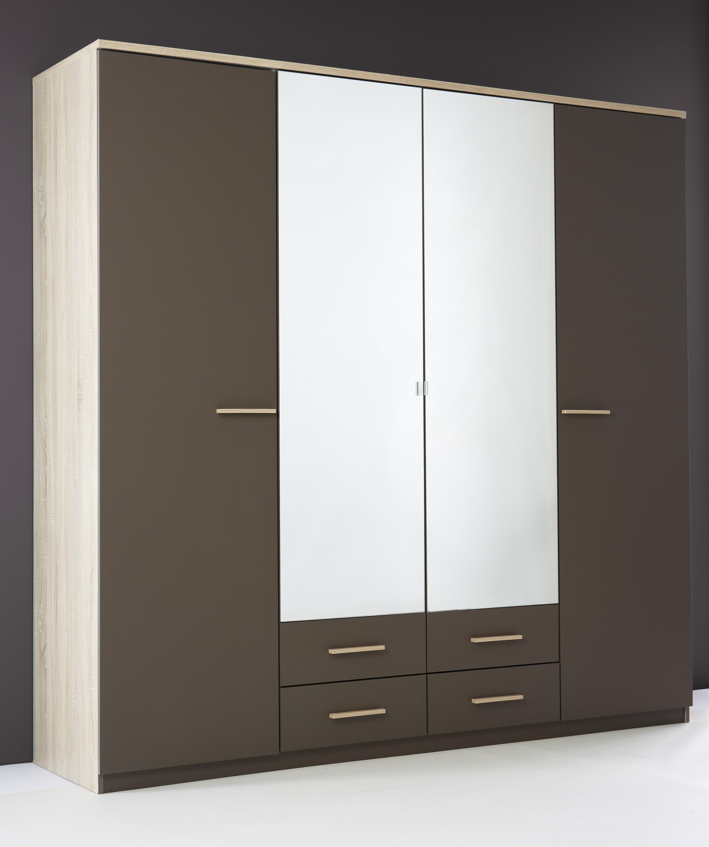 les tendances armoire 4 portes selena. Black Bedroom Furniture Sets. Home Design Ideas