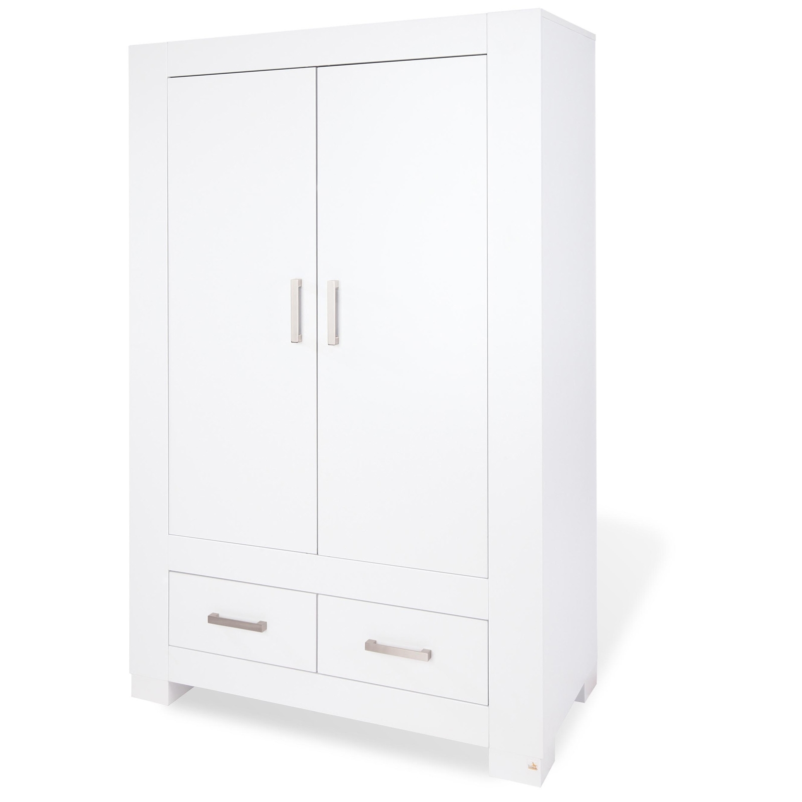 armoire blanche 2 portes ice pinolino 143413. Black Bedroom Furniture Sets. Home Design Ideas