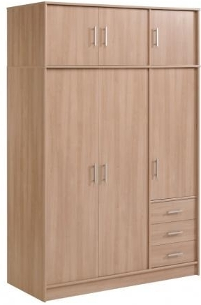armoire bruges 6 portes quadro. Black Bedroom Furniture Sets. Home Design Ideas