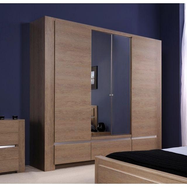 armoire chene excellent meuble chaussures paires portes. Black Bedroom Furniture Sets. Home Design Ideas