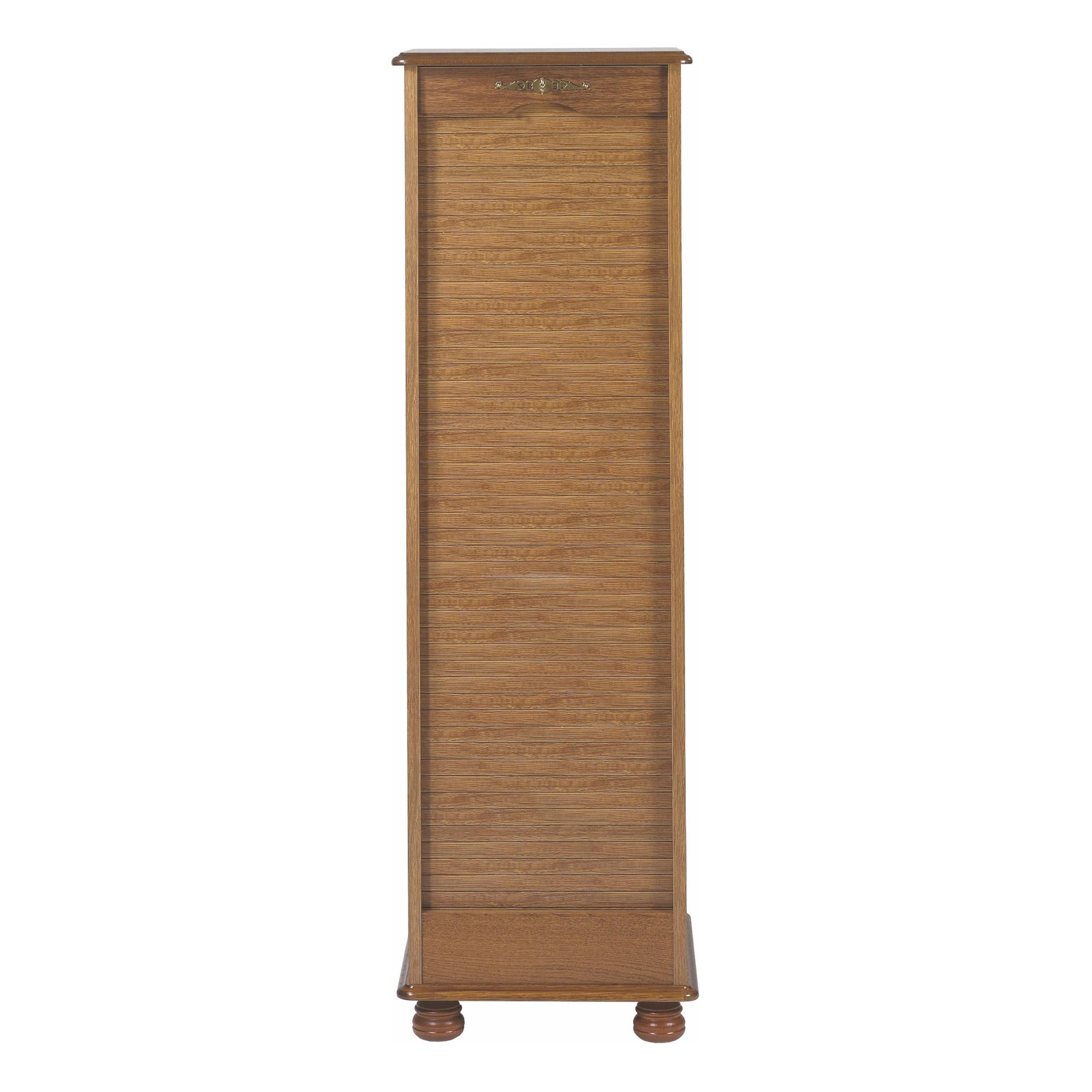 Armoire de bureau à rideau en bois Metz - LesTendances.fr