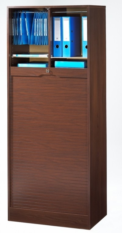 armoire de bureau rideau weng h 177 cm matha. Black Bedroom Furniture Sets. Home Design Ideas