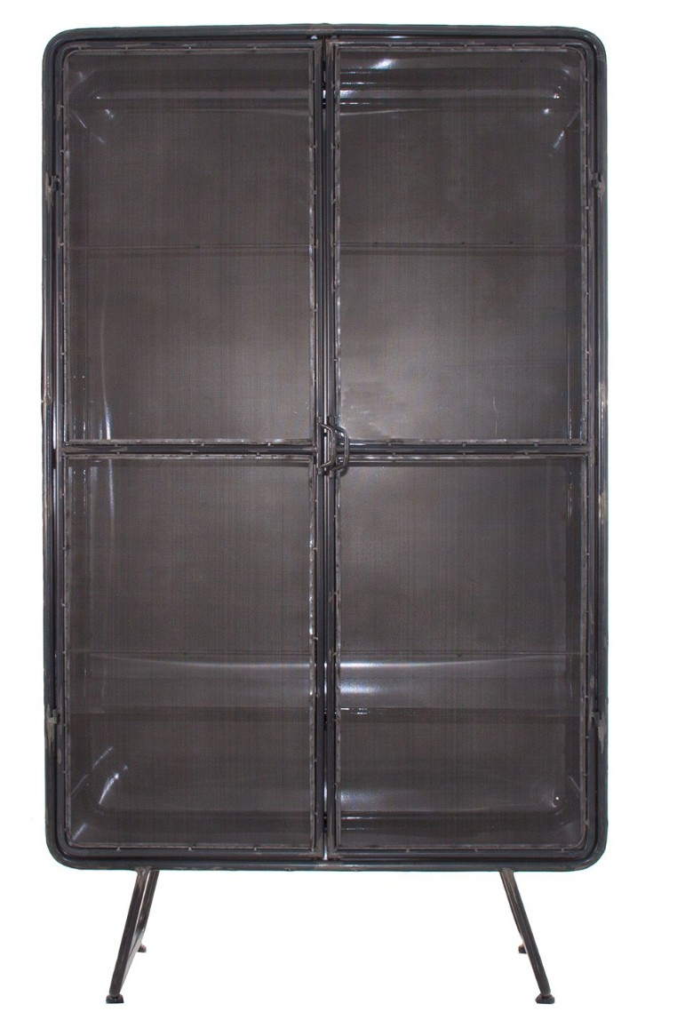armoire industriel m tal gris anthracite kusty. Black Bedroom Furniture Sets. Home Design Ideas