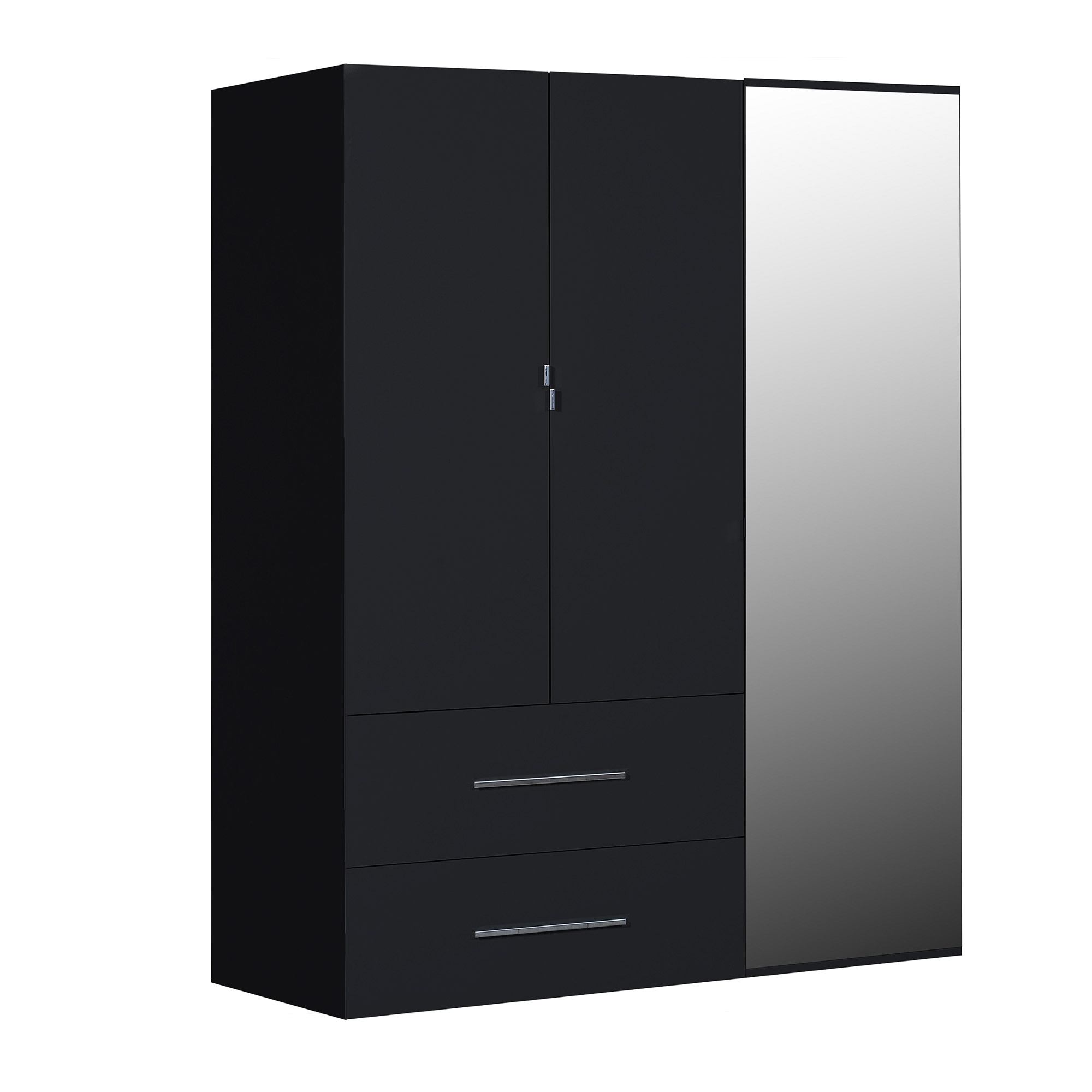Armoire fly 2 portes coulissantes valdiz for Armoire conforama 3 portes coulissantes