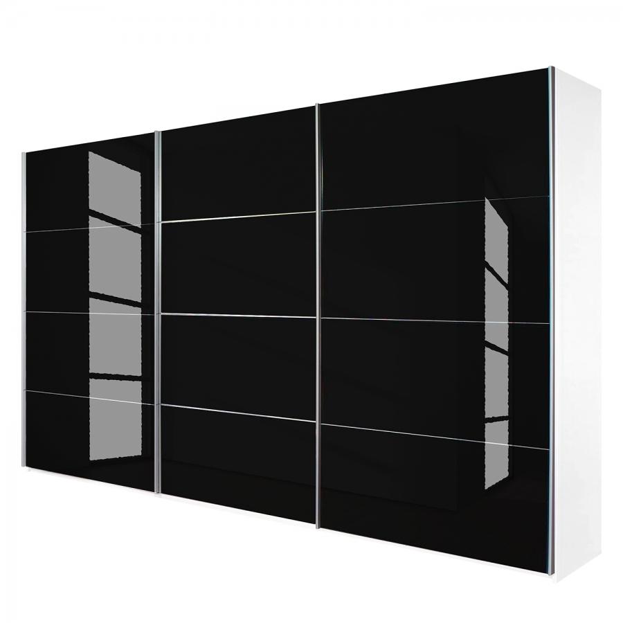 Armoire design verre noir quadro for Chambre quadra