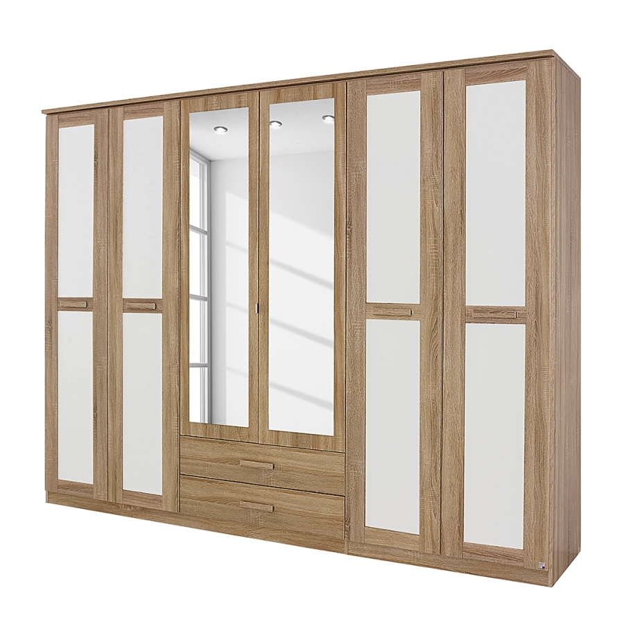 Armoire chambre blanche - Armoires chambre adulte ...
