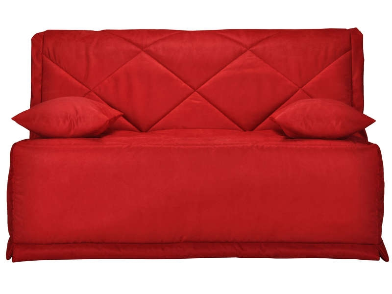 banquette bz rouge matelas bultex 15 cm baikal. Black Bedroom Furniture Sets. Home Design Ideas