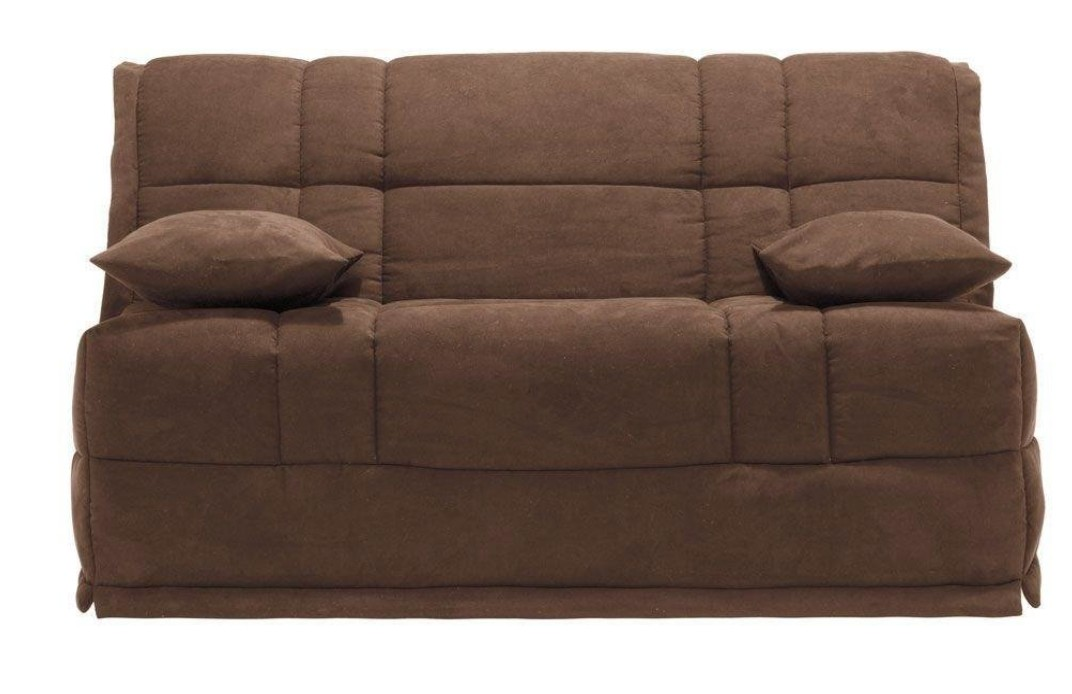 banquette bz microfibre marron bultex 13 cm cobra. Black Bedroom Furniture Sets. Home Design Ideas
