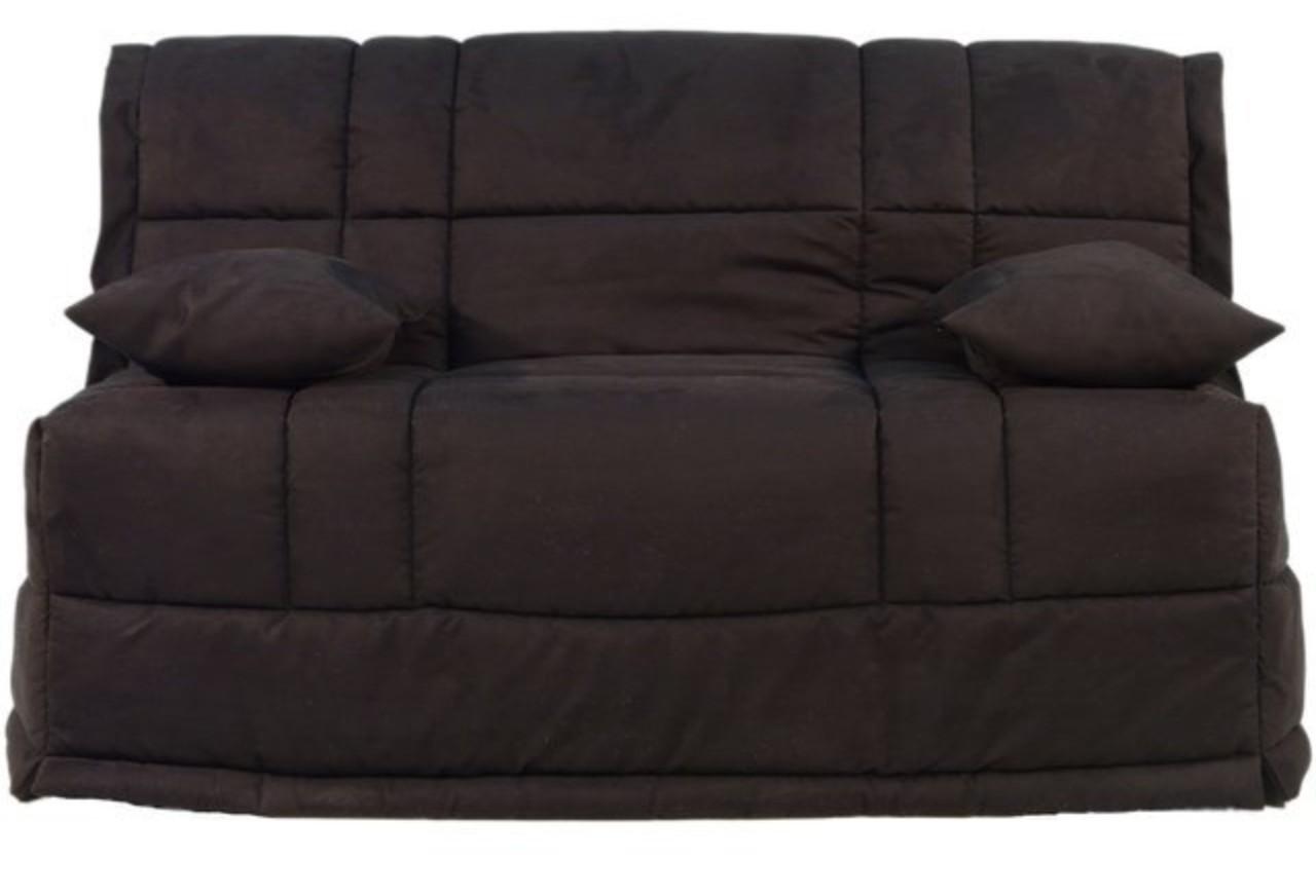 banquette bz microfibre noir bultex 13 cm cobra. Black Bedroom Furniture Sets. Home Design Ideas
