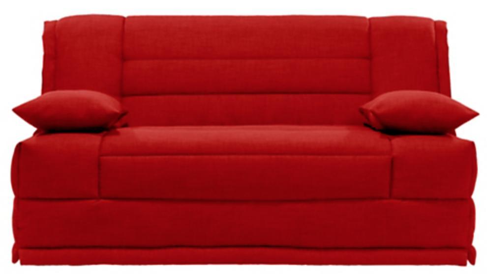 banquette bz rouge matelas sofaconfort 12 cm macapa mod le 120. Black Bedroom Furniture Sets. Home Design Ideas