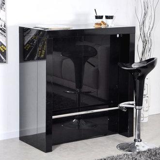bar laqu noir algo console extensible. Black Bedroom Furniture Sets. Home Design Ideas