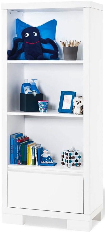 Bibliothèque bébé laquée blanche Sky | LesTendances.fr