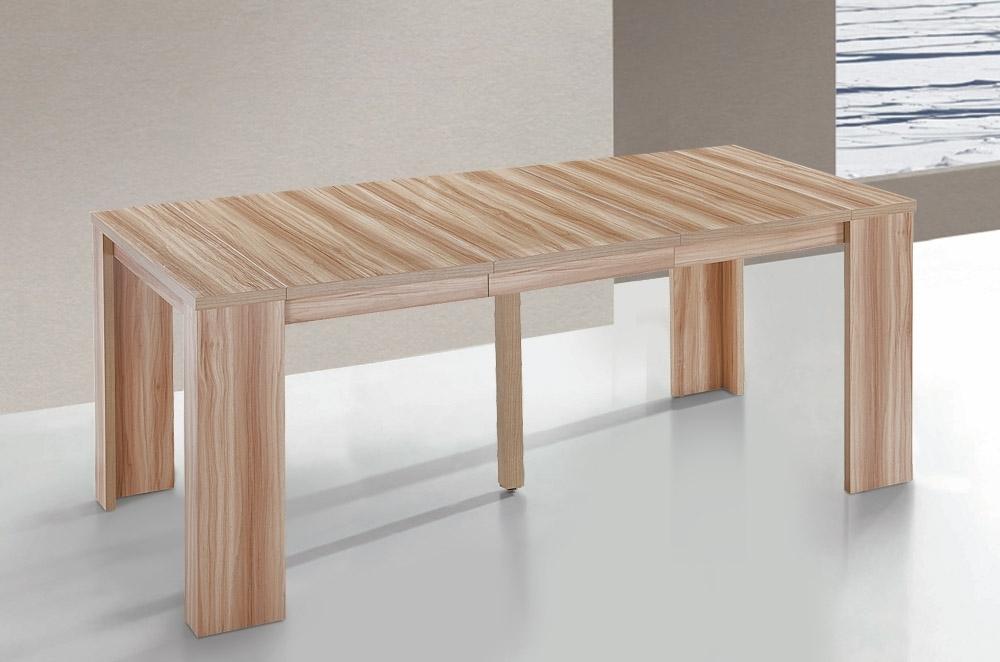 Table console extensible kunz 40 190 cm 10 personnes for Table console extensible 10 personnes