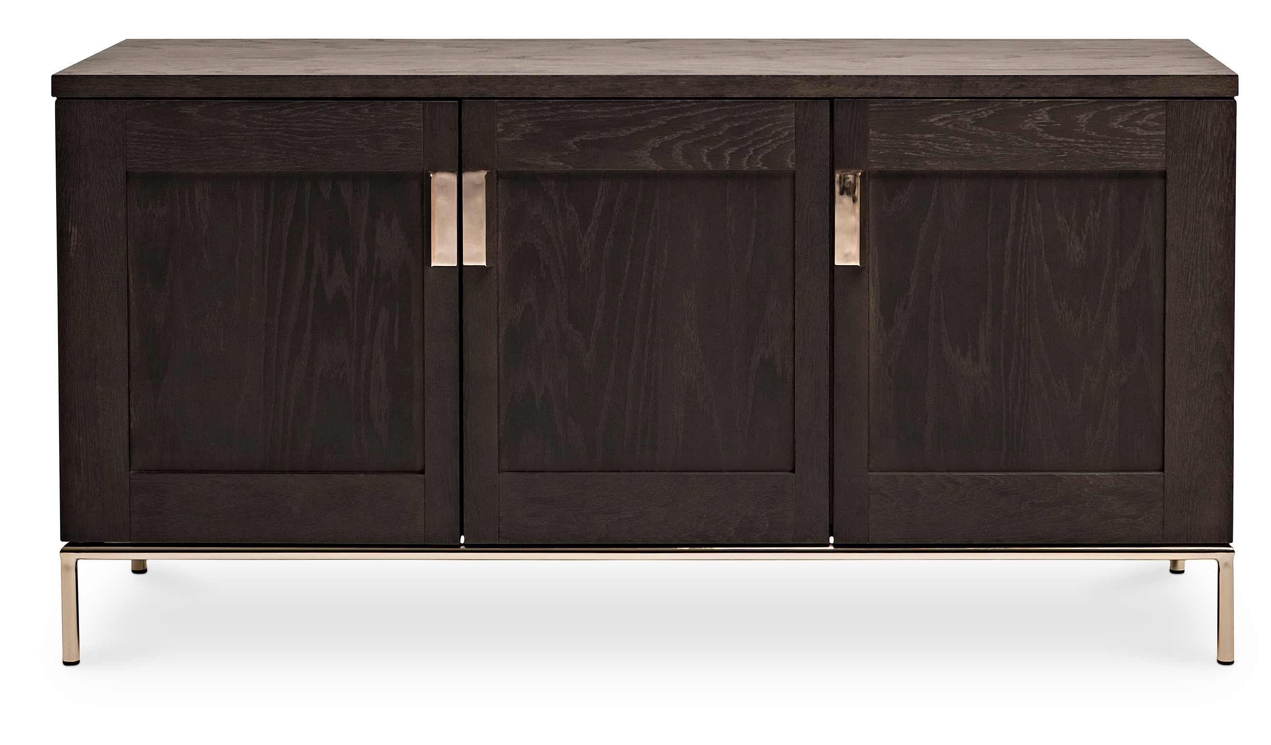 buffet bois marron fonc zaki. Black Bedroom Furniture Sets. Home Design Ideas