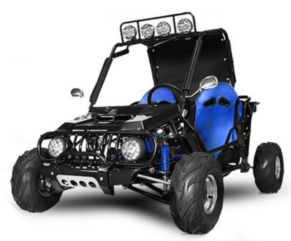 buggy midi 125cc auto bleu. Black Bedroom Furniture Sets. Home Design Ideas