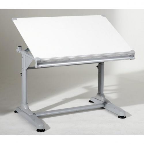 bureau blanc inclinable anton. Black Bedroom Furniture Sets. Home Design Ideas