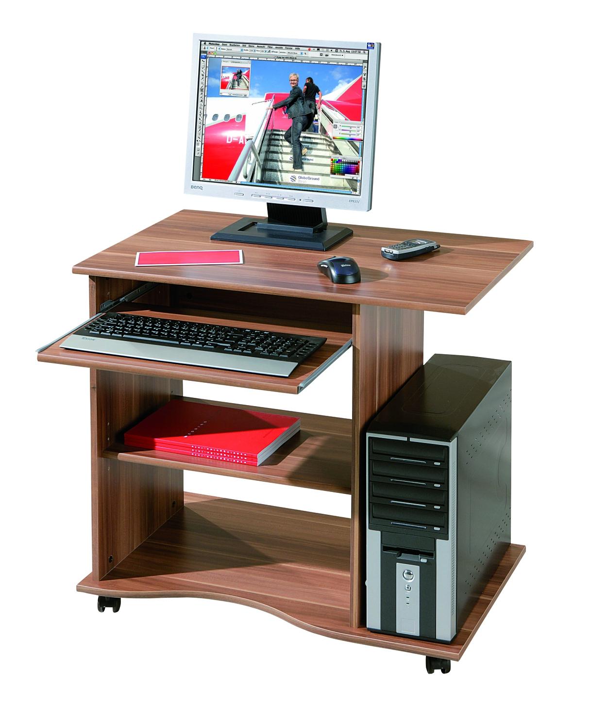 Bureau informatique noyer rona for Bureau noyer