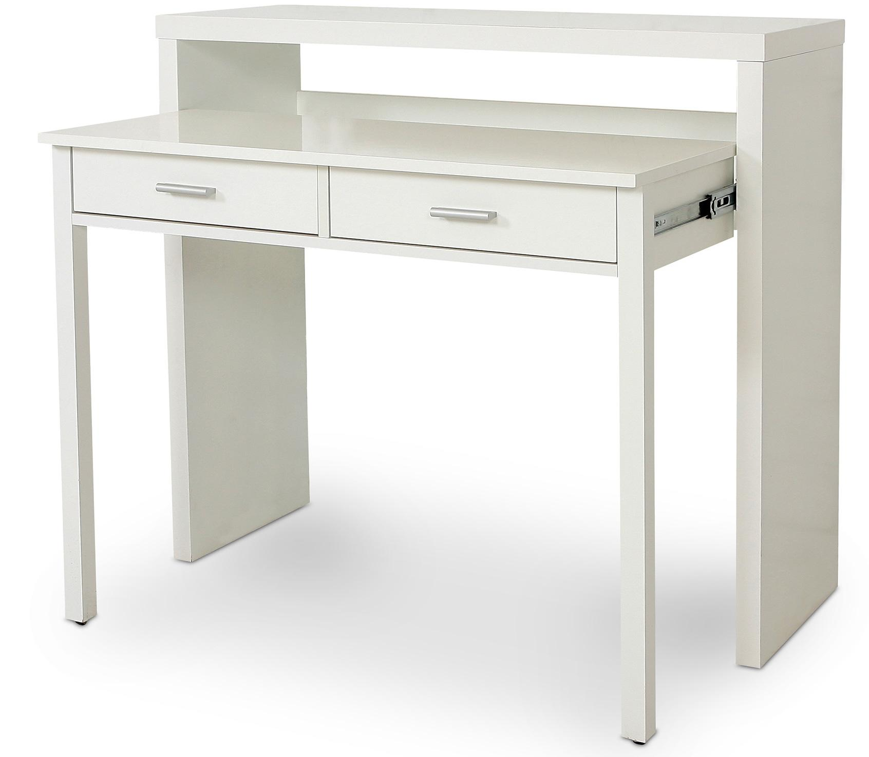 bureau scandinave bois blanc tito. Black Bedroom Furniture Sets. Home Design Ideas