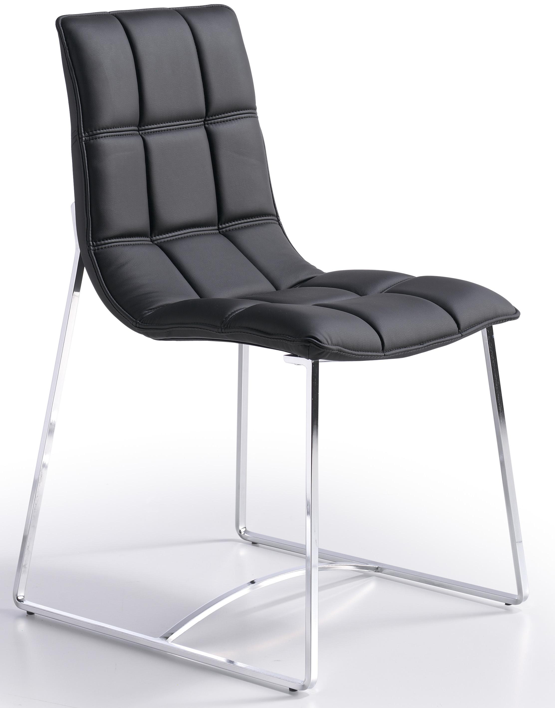 Chaise de sejour unique chaises sejour pas cher camellia for Chaise sejour noir