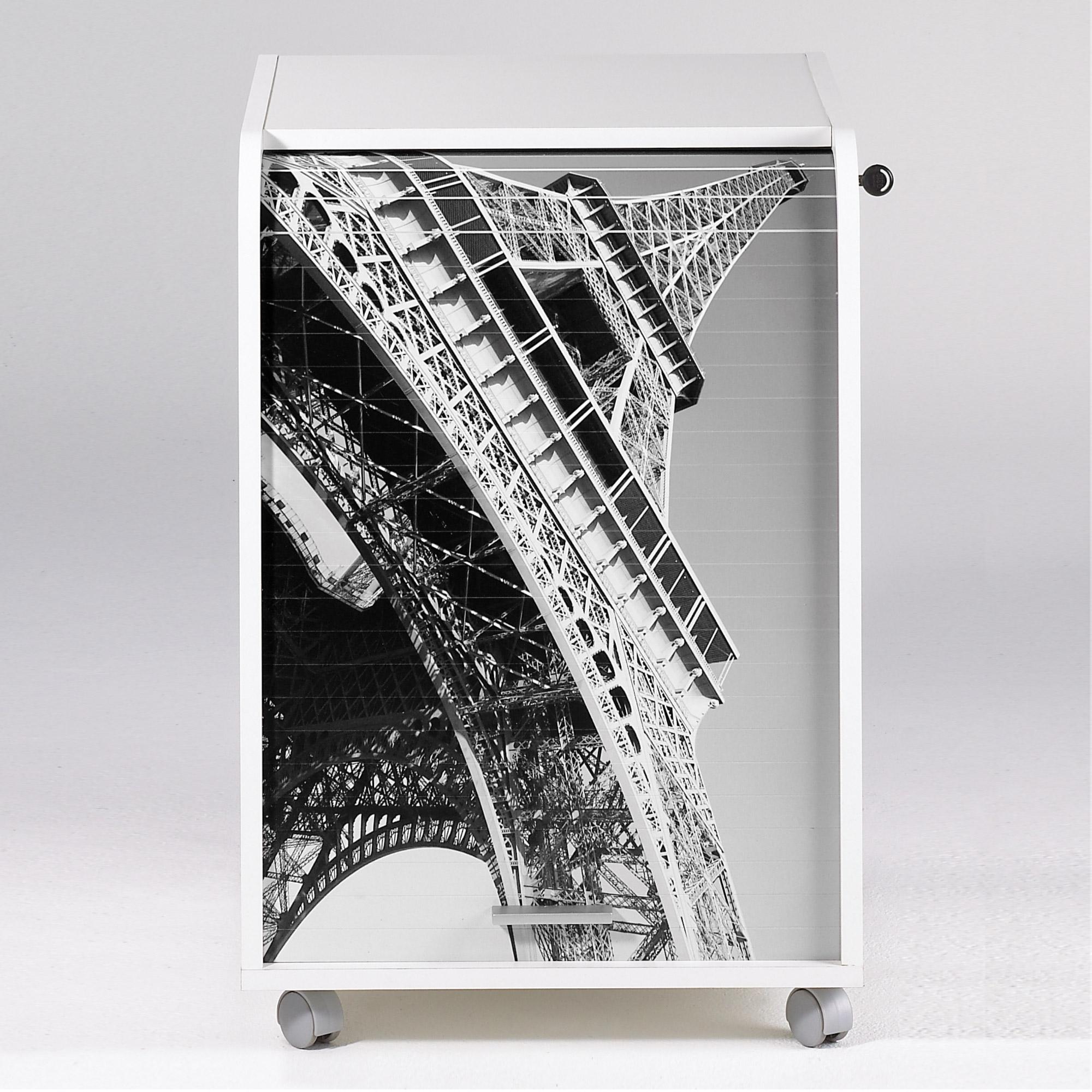 caisson de bureau orga blanc 70 cm paris. Black Bedroom Furniture Sets. Home Design Ideas