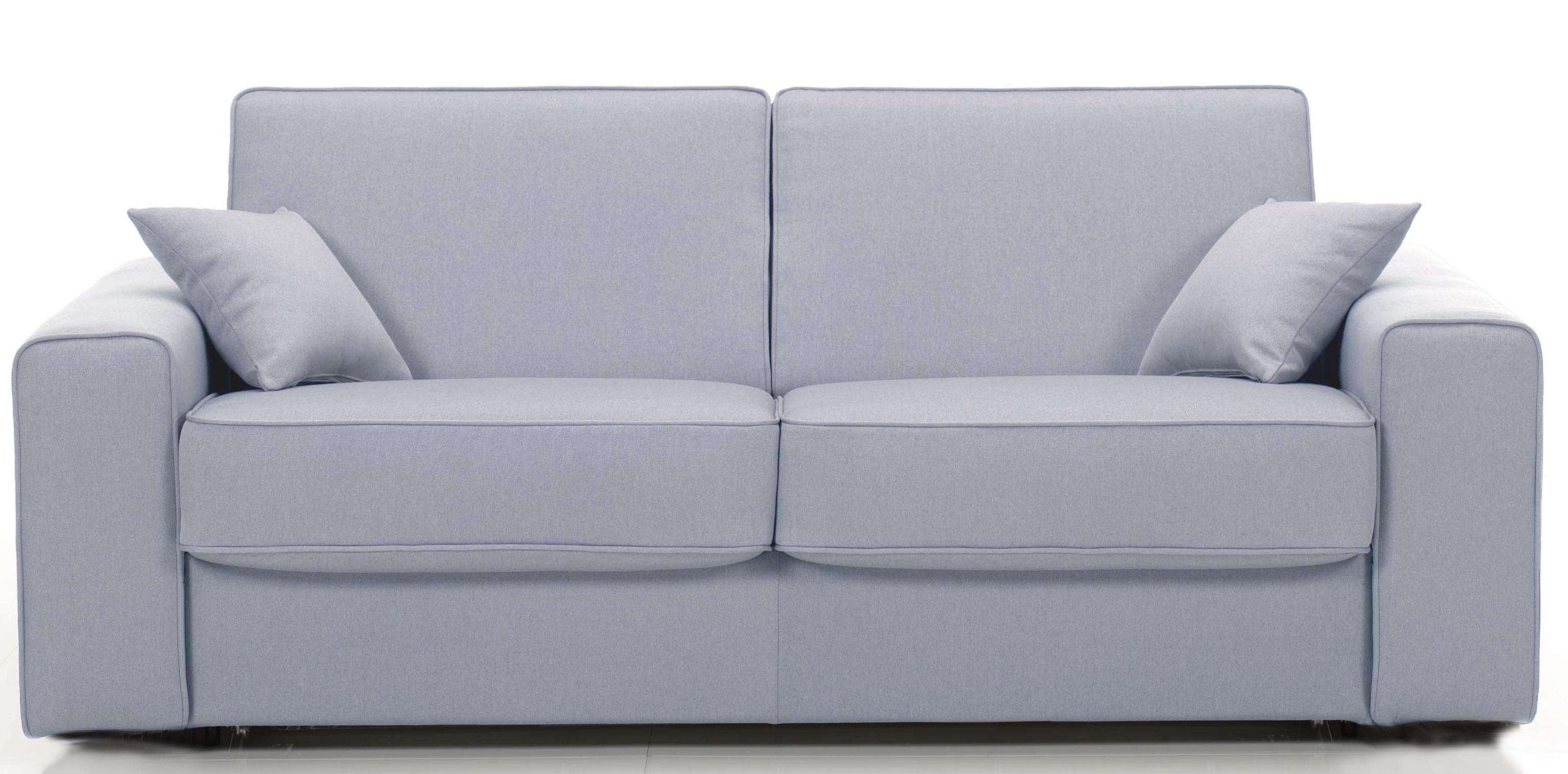 canap 3 places bultex rapido rev tement microfibre gris clair sunrise. Black Bedroom Furniture Sets. Home Design Ideas