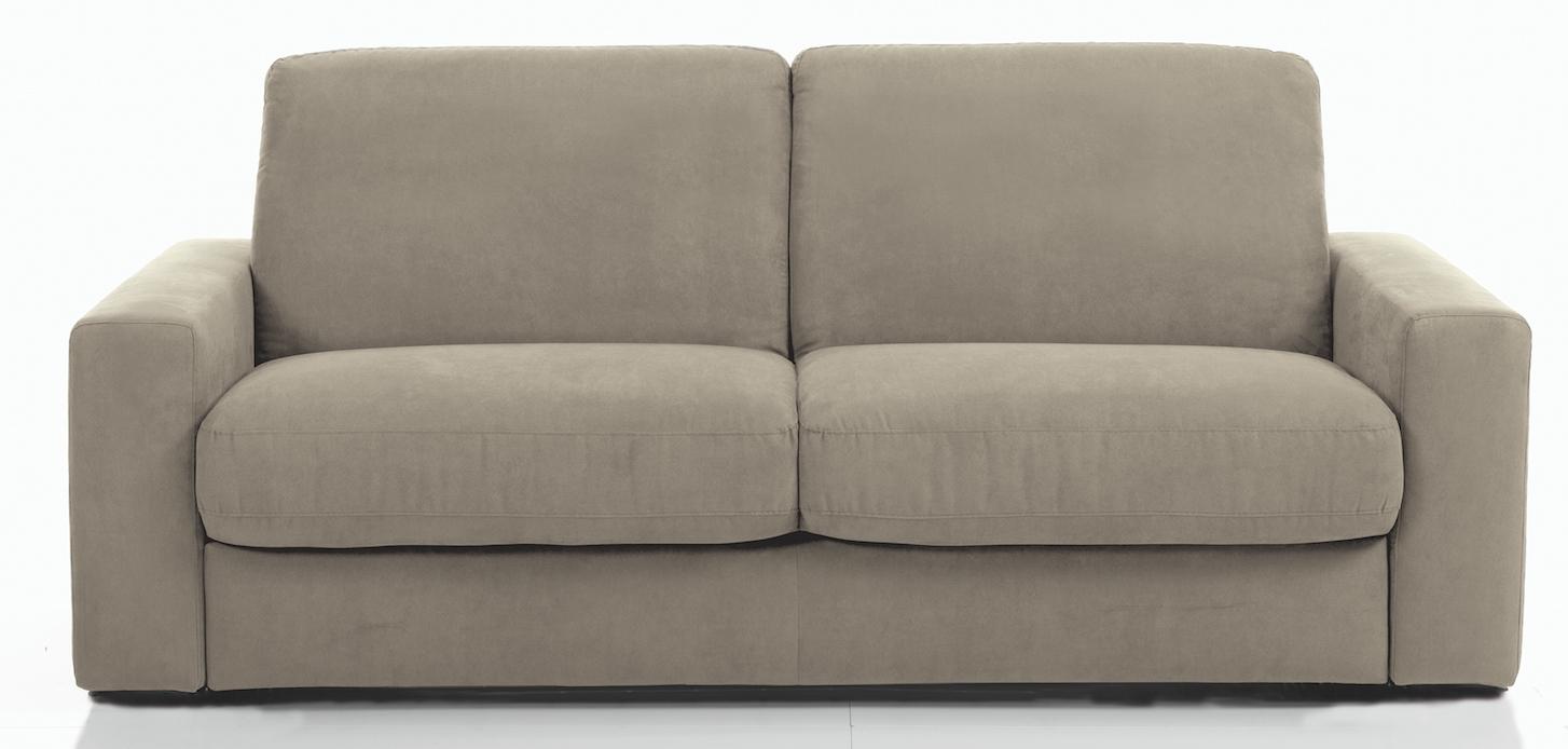 canap 3 places bultex rapido rev tement microfibre taupe rosa. Black Bedroom Furniture Sets. Home Design Ideas