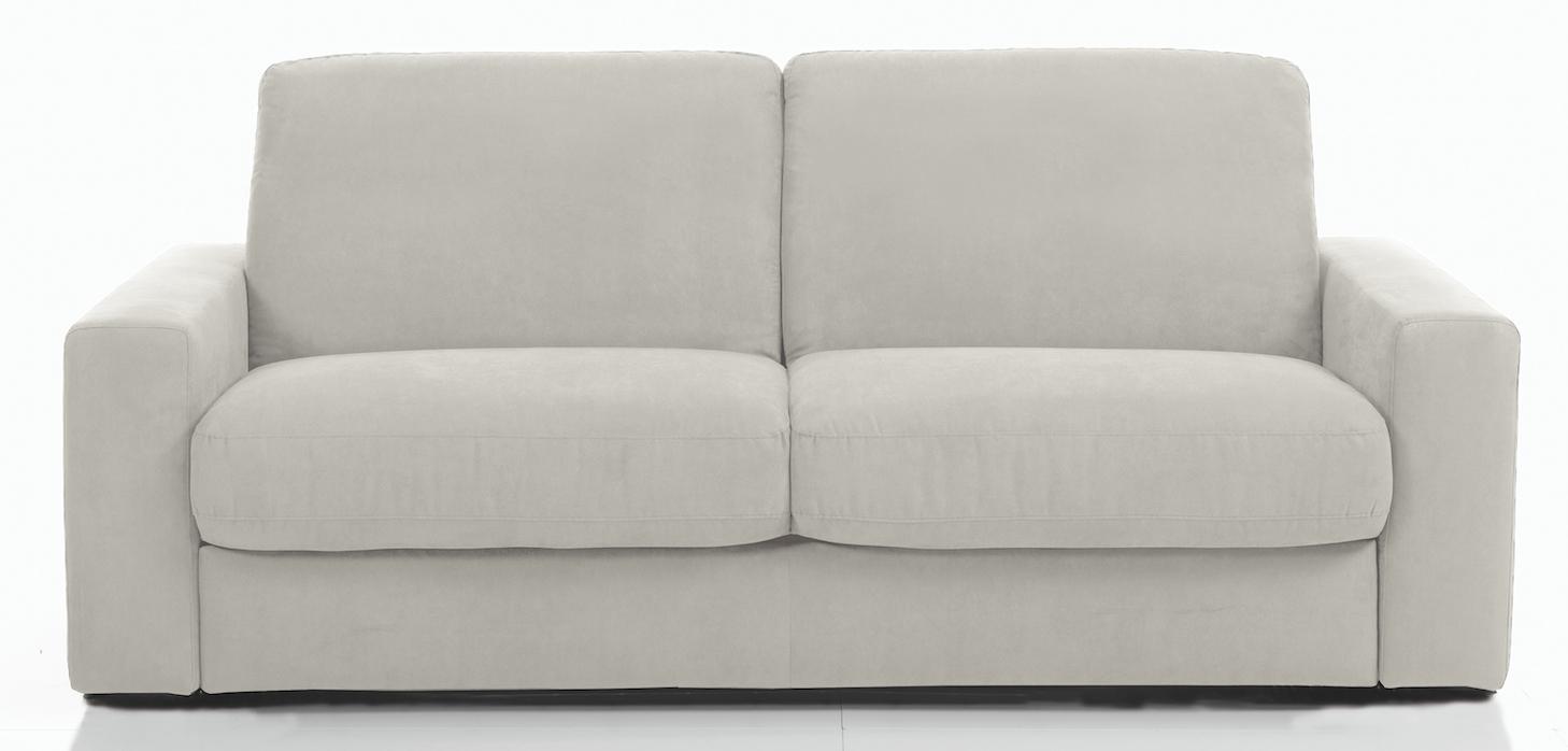 canap 3 places bultex rapido rev tement tissu gris perle rosa. Black Bedroom Furniture Sets. Home Design Ideas