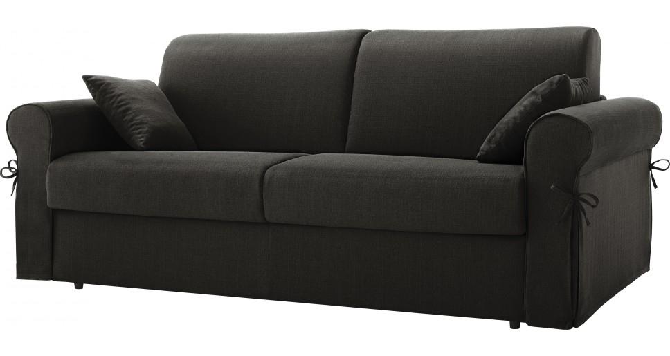 canap rapido bultex rev tement tissu anthracite lisia. Black Bedroom Furniture Sets. Home Design Ideas