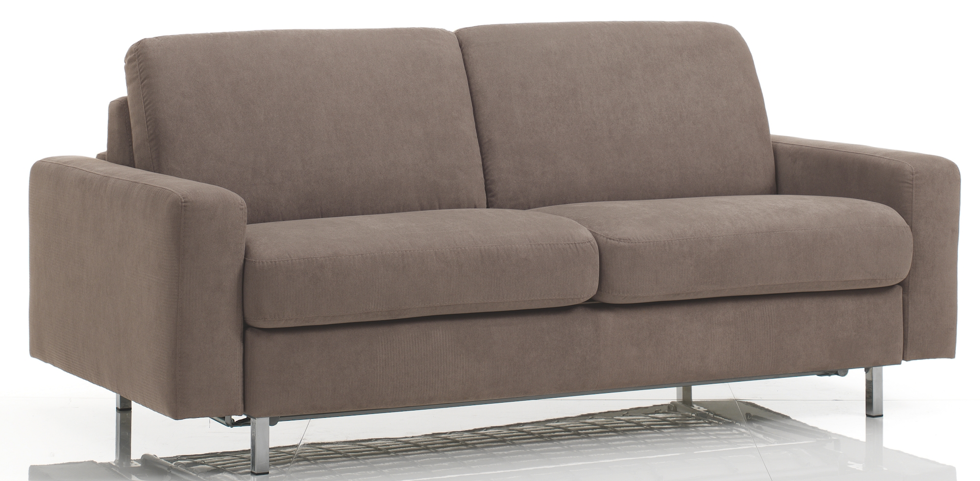 canap 3 places bultex rapido rev tement tissu taupe katus. Black Bedroom Furniture Sets. Home Design Ideas