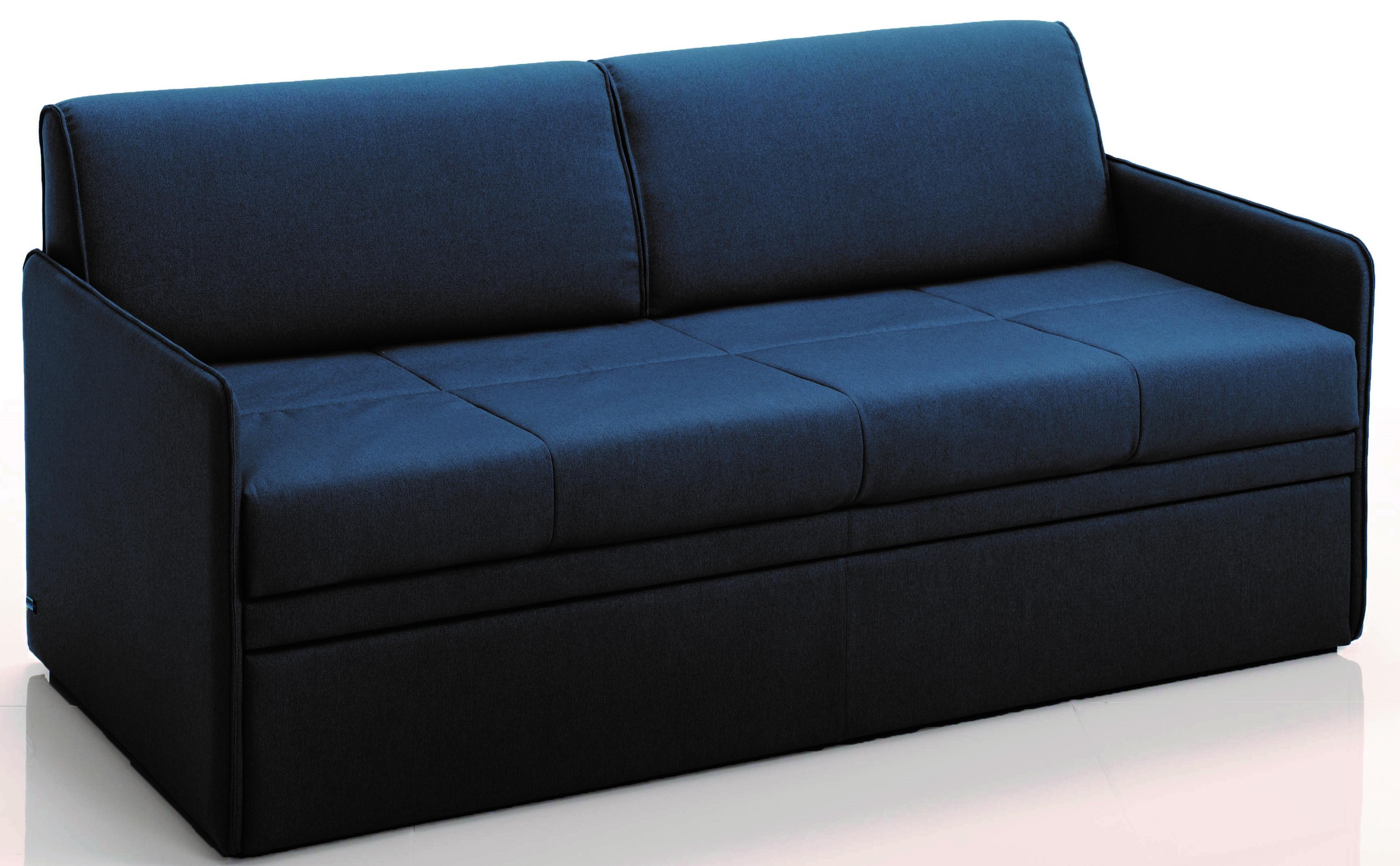 canap convertible gigogne 3 places microfibre anthracite cassis. Black Bedroom Furniture Sets. Home Design Ideas