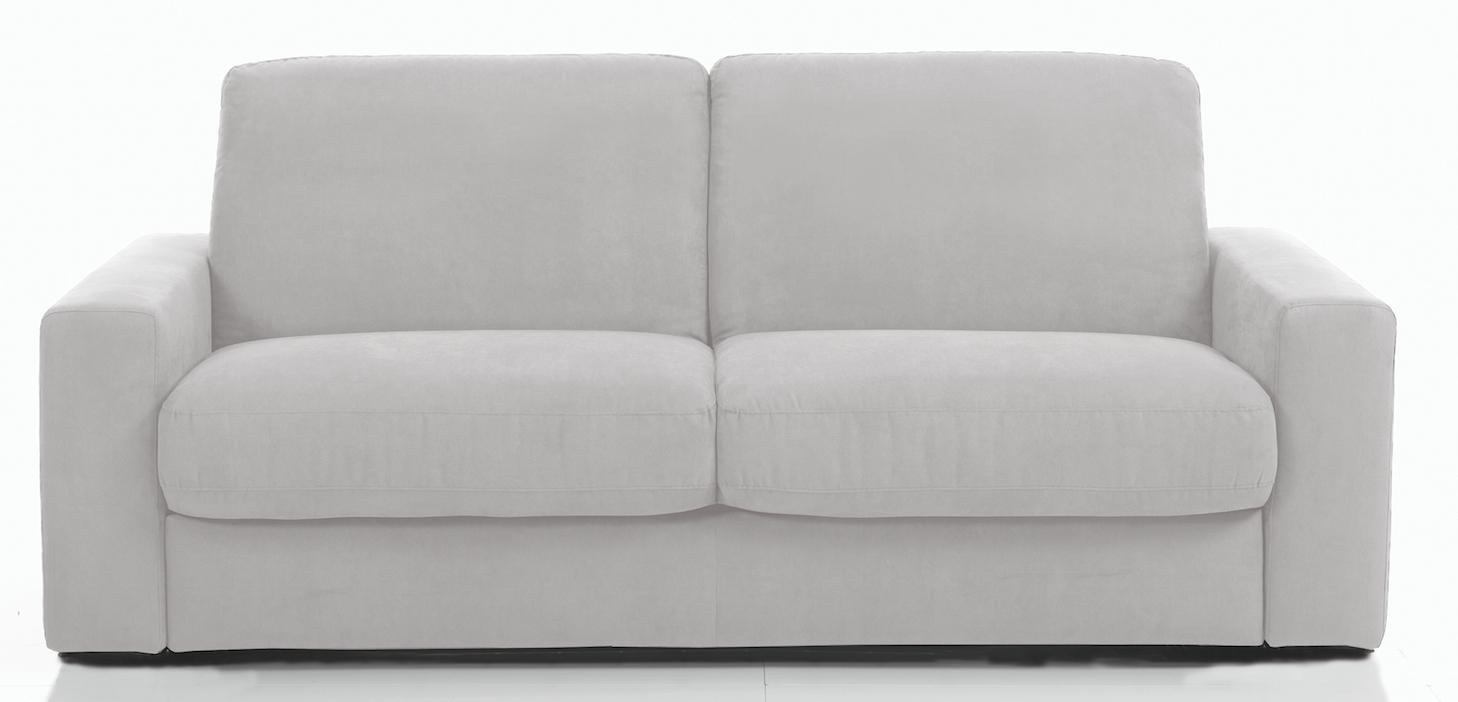 canap rapido rev tement microfibre gris clair rosa mod le 2 places. Black Bedroom Furniture Sets. Home Design Ideas